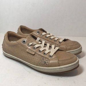 Taos Leather Lace Up Women's Sneakers